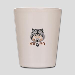 WOLF PACK Shot Glass