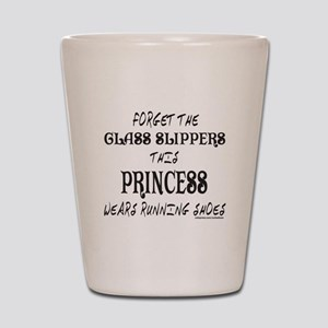 THIS PRINCESS WEARS RUNNING SHOES Shot Glass