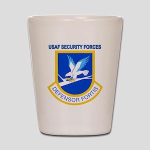 Defensor Fortis Shot Glass
