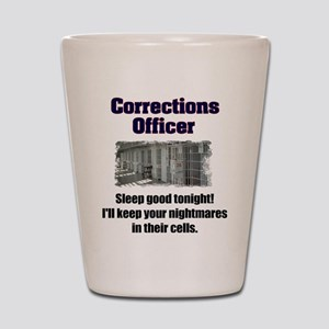 Corrections Officer Shot Glass