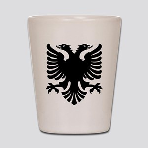 Shqipe - Double Headed Griffin Shot Glass