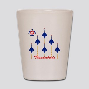 Thunderbirds Shot Glass