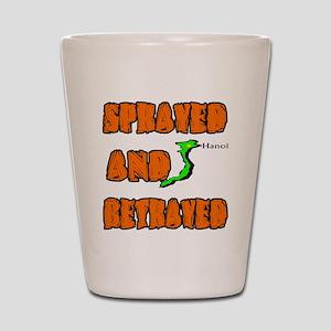 SPRAYED Shot Glass