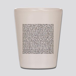 Thelemic Fable Shot Glass