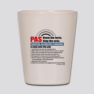 PAS-know facts Shot Glass