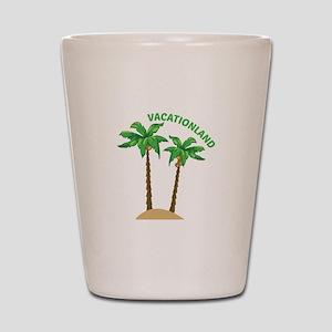 Vacationland Shot Glass