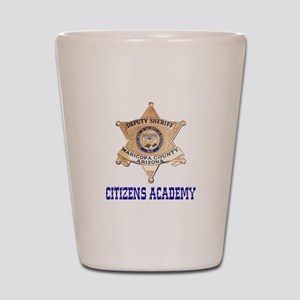 Maricopa Sheriff Citizens Academy Shot Glass