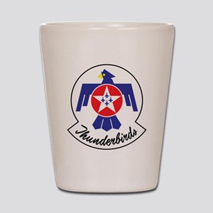 USAF Thunderbirds Emblem Shot Glass