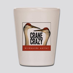 Crane Crazy Shot Glass