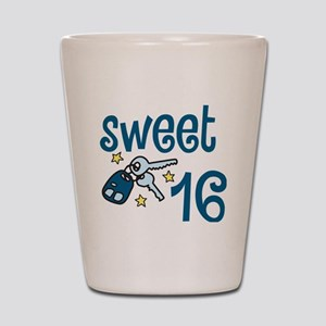 Sweet 16 Shot Glass