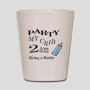 partymy crib Shot Glass