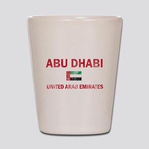 Abu Dhabi United Arab Emirates Designs Shot Glass