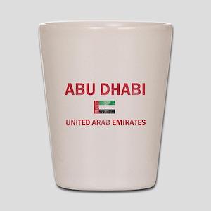 Abu Dhabi United Arab Emirates Designs Shot Glass