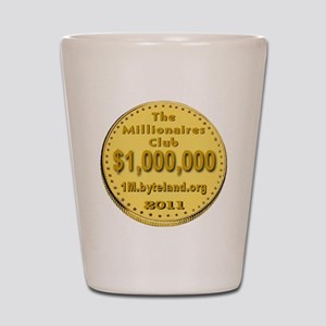 1M_Club_goldcoin_transparent Shot Glass