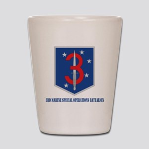 3MSOBwithT Shot Glass