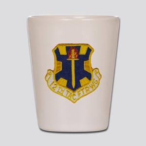 12TH TACTICAL FIGHTER WING Shot Glass