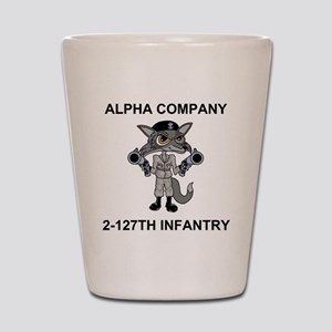 ARNG-127th-Infantry-A-Co-Shirt-1 Shot Glass