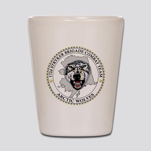 Army-172nd-Stryker-Bde-Arctic-Wolves-Bl Shot Glass