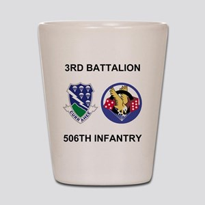 Army-506th-Infantry-BN3-Currahee-Paradi Shot Glass