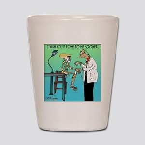7659_medical_cartoon Shot Glass