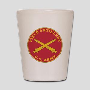 Army-Artillery-Branch-Plaque-Bonnie Shot Glass