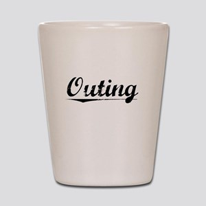 Outing, Vintage Shot Glass
