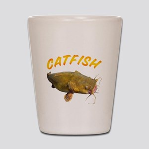 Catfish side Shot Glass