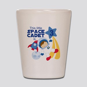 Astronaut is 3 Shot Glass