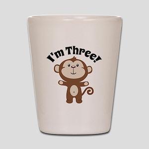 Monkey Im 3 Shot Glass
