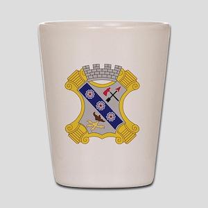 8th Infantry Regiment Patch Shot Glass