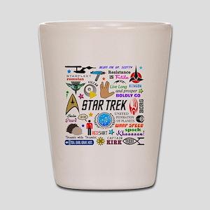 Trekkie Memories Shot Glass