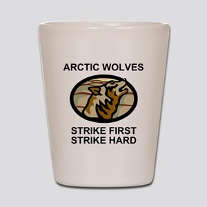 Army-172nd-Stryker-Bde-Arctic-Wolves-2- Shot Glass