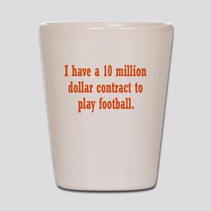 football-contract3 Shot Glass