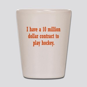 hockey-contract3 Shot Glass