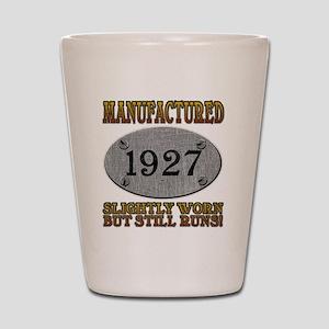 1927 Shot Glass