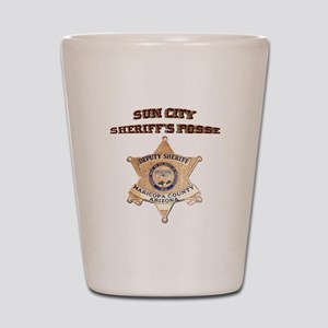 Sun City Sheriffs Posse Shot Glass
