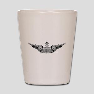 Aviator - Senior B-W Shot Glass