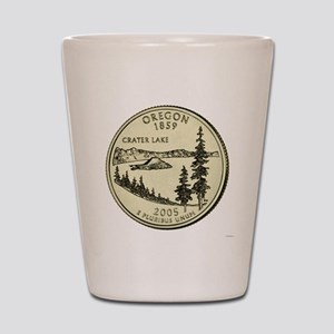 Oregon Quarter 2005 Basic Shot Glass