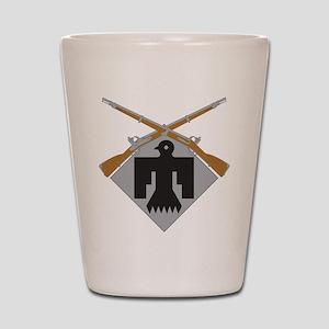 45th Infantry Shot Glass