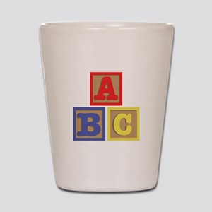 ABC Blocks Shot Glass