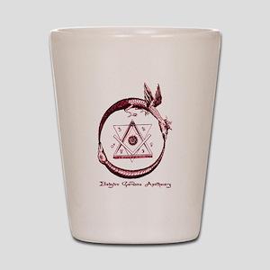 Alchemical Ouroboros Shot Glass