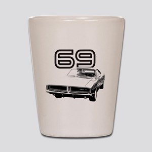 1969 Charger 03 Shot Glass