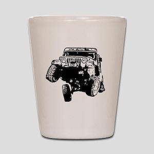 Jeep Wrangler Poser (TJ) Shot Glass