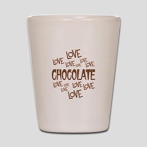 Love Love Chocolate Shot Glass