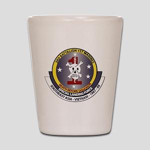 SSI - 3rd Battalion - 1st Marines USMC Shot Glass