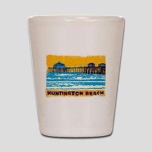 Huntington Beach Pier Shot Glass