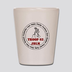 troop 62 Shot Glass