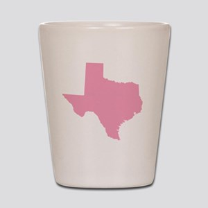 _0042_texas pink Shot Glass