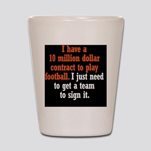football-contract_rnd2 Shot Glass