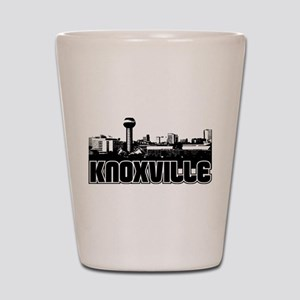 Knoxville Skyline Shot Glass
